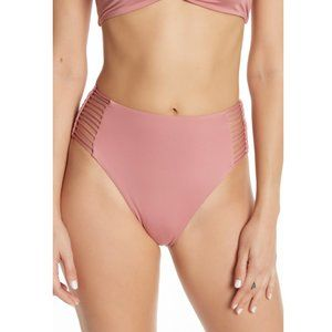 Dolce Vita High Waist Bone Lace Bikini Bottom